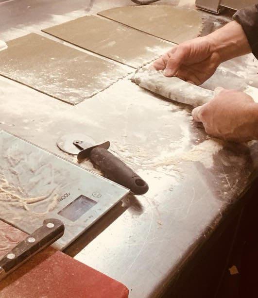 pasta fatta a mano fricando